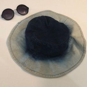 Vintage Accessories - Denim bucket hat